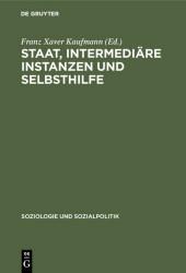 Staat, intermediäre Instanzen und Selbsthilfe