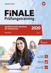 FiNALE Prüfungstraining 2020 - Qualifizierender Abschluss Mittelschule Bayern, Deutsch Cover