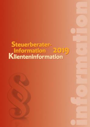 Steuerberaterinformation / Klienteninformation 2019 (Ausgabe Österreich)