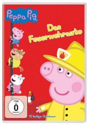 Peppa Pig - Das Feuerwehrauto und andere Geschichten, 1 DVD