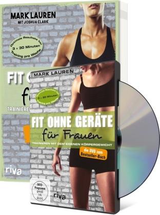 Fit ohne Geräte für Frauen, m. DVD