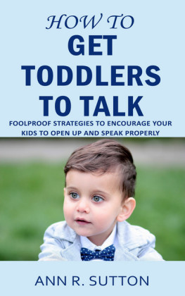 How to Get Toddlers to Talk