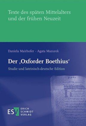 Mairhofer, Daniela: Der 'Oxforder Boethius'
