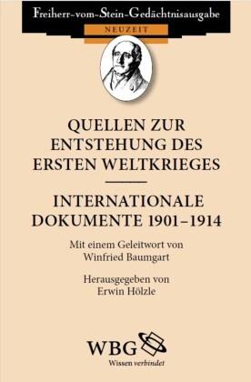 Quellen zur Entstehung des Ersten Weltkrieges