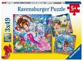 Bezaubernde Meerjungfrauen (Kinderpuzzle)