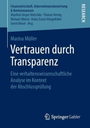 Vertrauen durch Transparenz