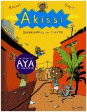 Akissi - Super-Heroes en Platre