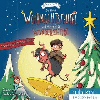 Der kleine Weihnachtsteufel und der verflixte Wunschzettel, 2 Audio-CDs