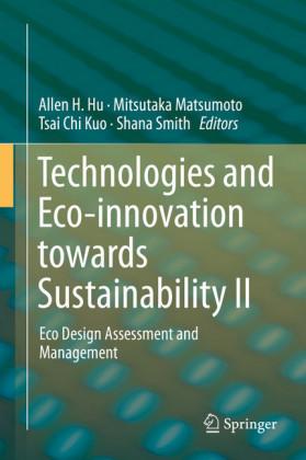 Technologies and Eco-innovation towards Sustainability II