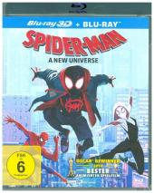 Spider-Man: A new Universe 3D, 2 Blu-rays