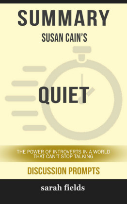 Summary: Susan Cain's Quiet