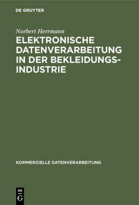 Elektronische Datenverarbeitung in der Bekleidungsindustrie