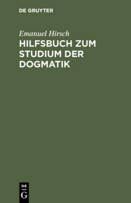 Hilfsbuch zum Studium der Dogmatik