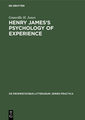 Henry James's Psychology of Experience