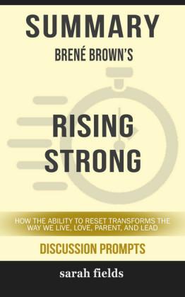Summary: Bréne Brown's Rising Strong