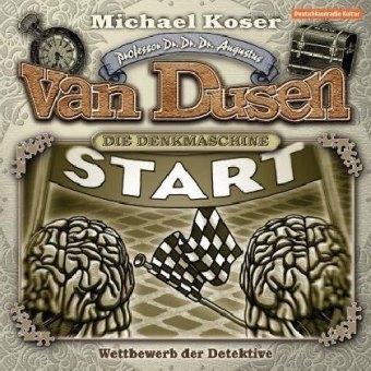 Professor van Dusen - Wettbewerb der Detektive (Neuauflage)