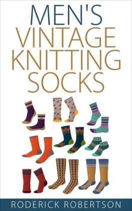 Men's Vintage Knitting Socks