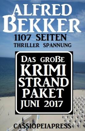 Das große Krimi Strand Paket Juni 2017
