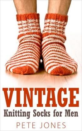 Vintage Knitting Socks for Men