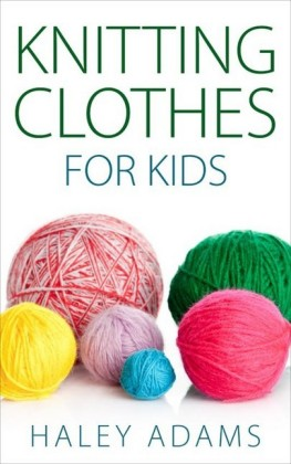 Knitting Clothes for Kids
