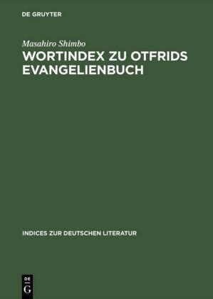 Wortindex zu Otfrids Evangelienbuch