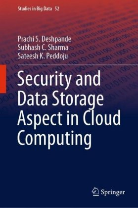 Security and Data Storage Aspect in Cloud Computing