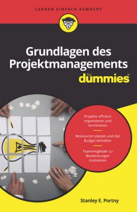 Grundlagen des Projektmanagements für Dummies