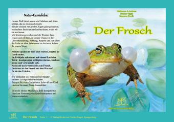 Der Frosch, Natur-Kamishibai