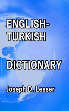 English / Turkish Dictionary