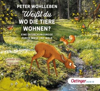 Weißt du, wo die Tiere wohnen?, 2 Audio-CD