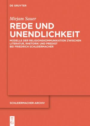 Sauer, Mirjam: Rede und Unendlichkeit