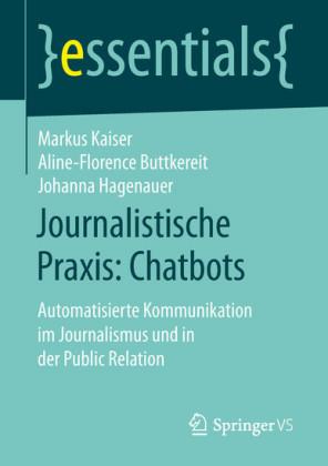 Journalistische Praxis: Chatbots