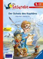 Der Schatz des Kapitäns - Leserabe 1. Klasse - Erstlesebuch für Kinder ab 6 Jahren
