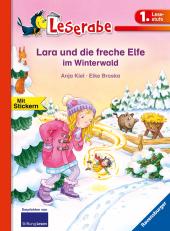 Lara und die freche Elfe im Winterwald Cover