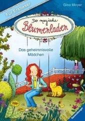 Der magische Blumenladen für Erstleser - Das geheimnisvolle Mädchen Cover