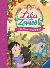 Lila und Zausel, Ein Einhorn verschwindet Cover
