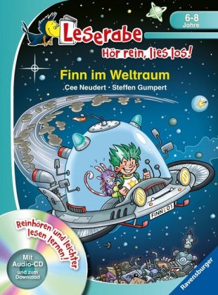 Finn im Weltraum, m. Audio-CD