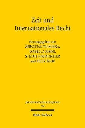 Zeit und Internationales Recht