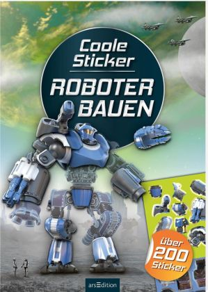 Coole Sticker - Roboter bauen