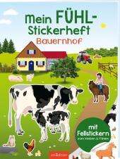 Mein Fühl-Stickerheft - Auf dem Bauernhof