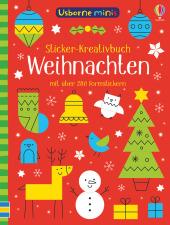 Usborne Minis - Sticker-Kreativbuch: Weihnachten