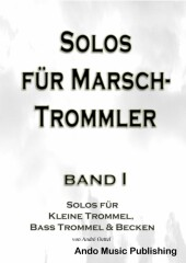 Solos für Marschtrommler - Band 1