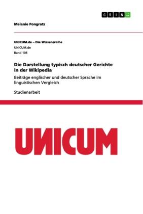 Die Darstellung typisch deutscher Gerichte in der Wikipedia