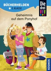 Die drei !!!, Geheimnis auf dem Ponyhof Cover