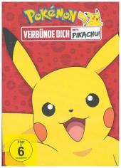 Pokémon - Verbünde dich mit Pikachu!, 1 DVD Cover