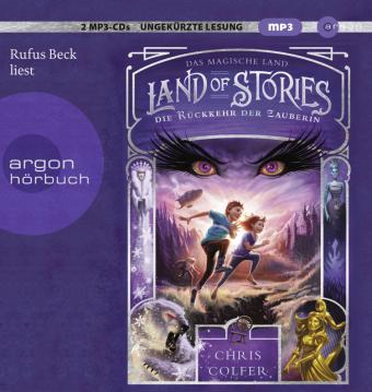 Land of Stories - Das magische Land - Die Rückkehr der Zauberin, 2 MP3-CDs