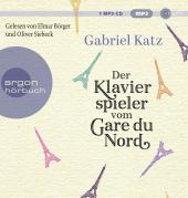 Der Klavierspieler vom Gare du Nord, 1 MP3-CD Cover