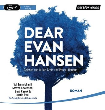 Dear Evan Hansen, 1 MP3-CD
