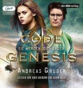 Code Genesis - Sie werden dich jagen, 1 MP3-CD Cover