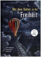 Mit dem Ballon in die Freiheit Cover